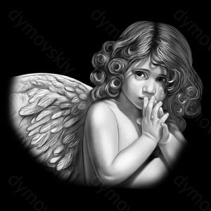 Фото ангелочков на памятник ребёнку 39